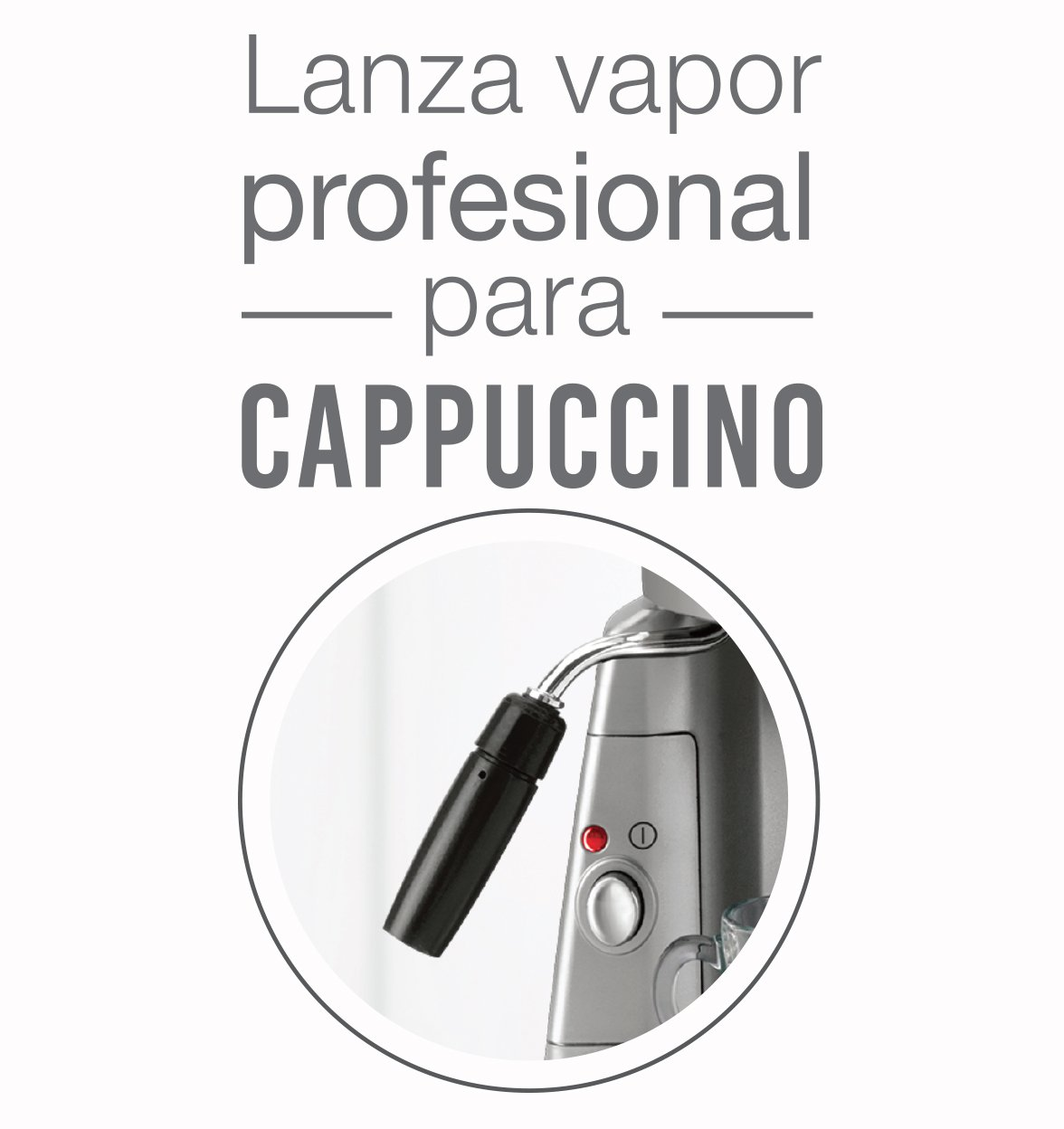 Mokona cafetera eléctrica Bialetti cappuccino