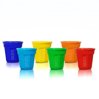 Vasitos multicolores para espresso Bialetti