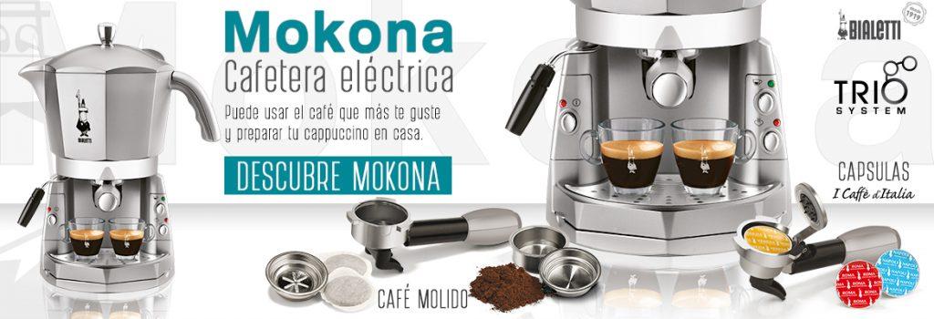 Cafetera eléctrica MOKONA Bialetti