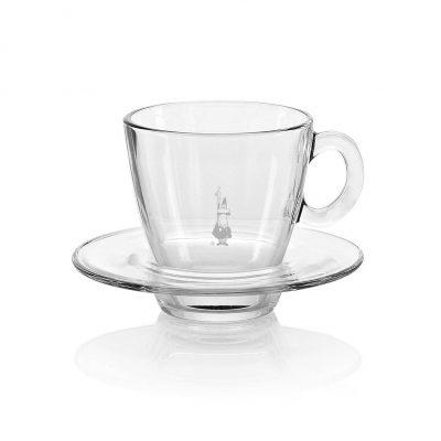 Tazas para café espresso en vidrio trasparente
