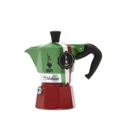 Cafetera Italiana Bialetti La Mokina Tricolore