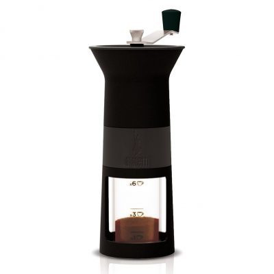Molinillo de grano de cafè manual negro bialetti