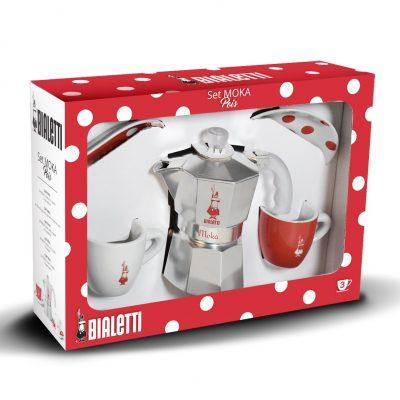 Cafetera italiana Moka Pois 3 tazas Bialetti