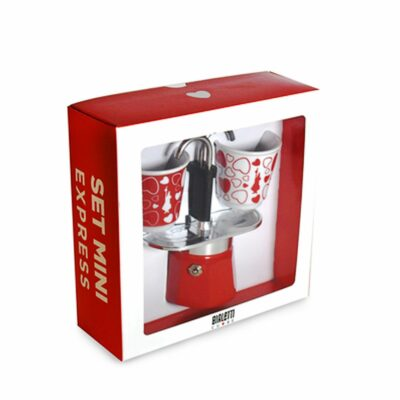 Cafetera Italiana Mini Express Corazon Bialetti