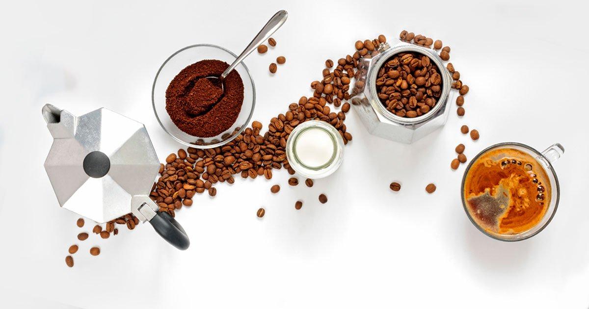 Como preparar tu café con una Cafetera Italiana