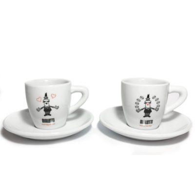 Tacitas para café espresso en porcelana