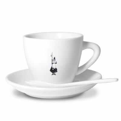 Taza cappuccino en porcelana Bialetti