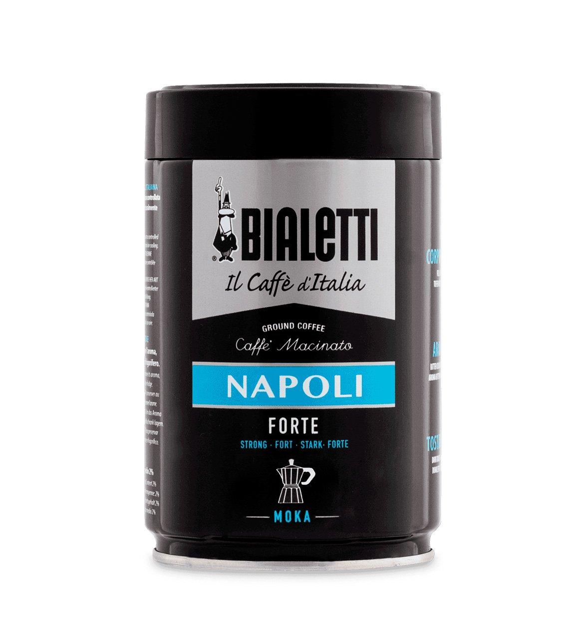 Café molido Bialetti sabor Napoli 250GR