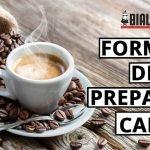 Formas de Preparar café
