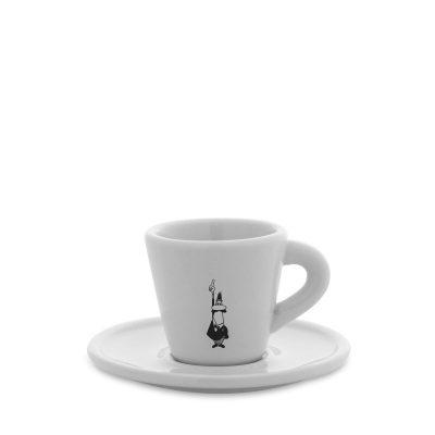 Tacita cafe espresso en porcelana Bialetti