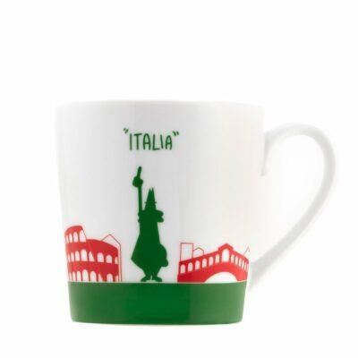 Mug Skyline Italia en porcelana