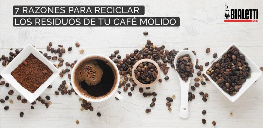 7 Razones Para Reciclar Los Residuos De Tu Café Molido Bialetti Perú