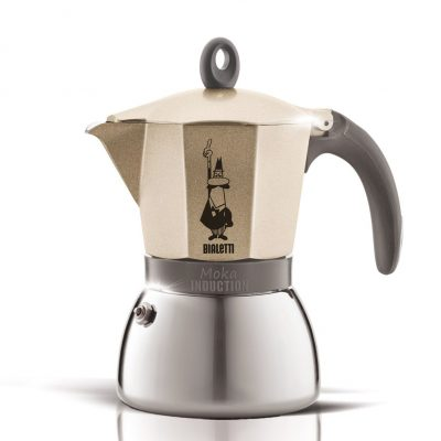 Cafetera Italiana Bialetti Moka Induction Gold 6 Tazas