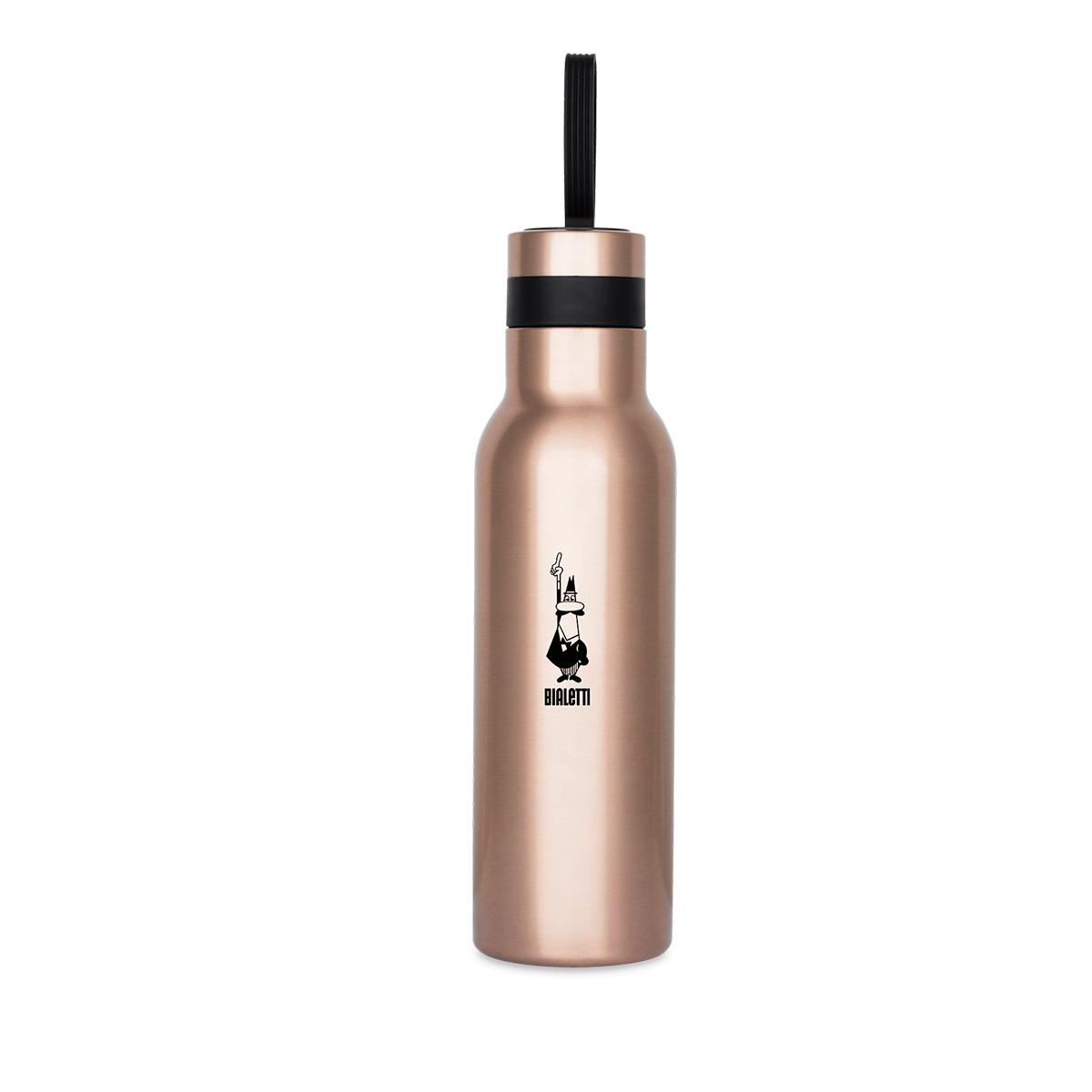 Botella Térmica Oro Rosa de Acero inoxidable Bialetti