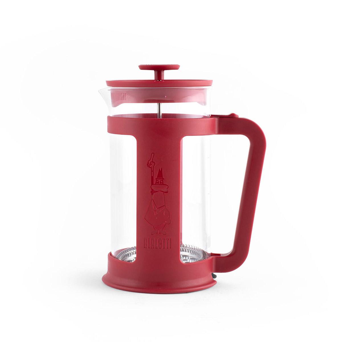 Cafetera Prensa Francesa Smart Rojo 1LT