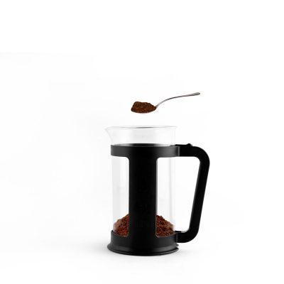 Pasos para Preparar Café Filtrado americano con Cafetera Italiana Prensa Francesa Bialetti