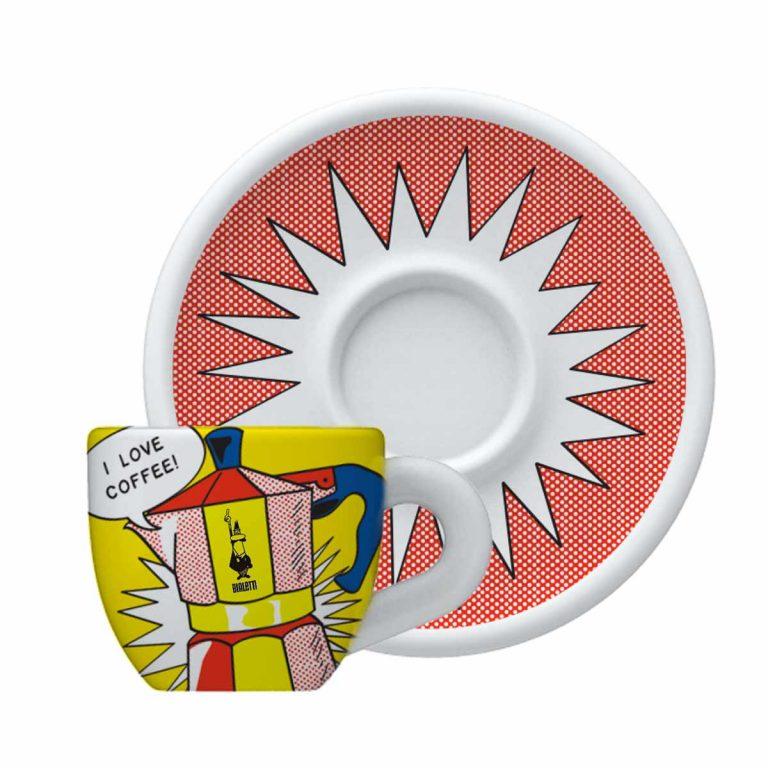 Taza para Cappuccino Lichtenstein de Porcelana Bialetti Diseño Personalizado
