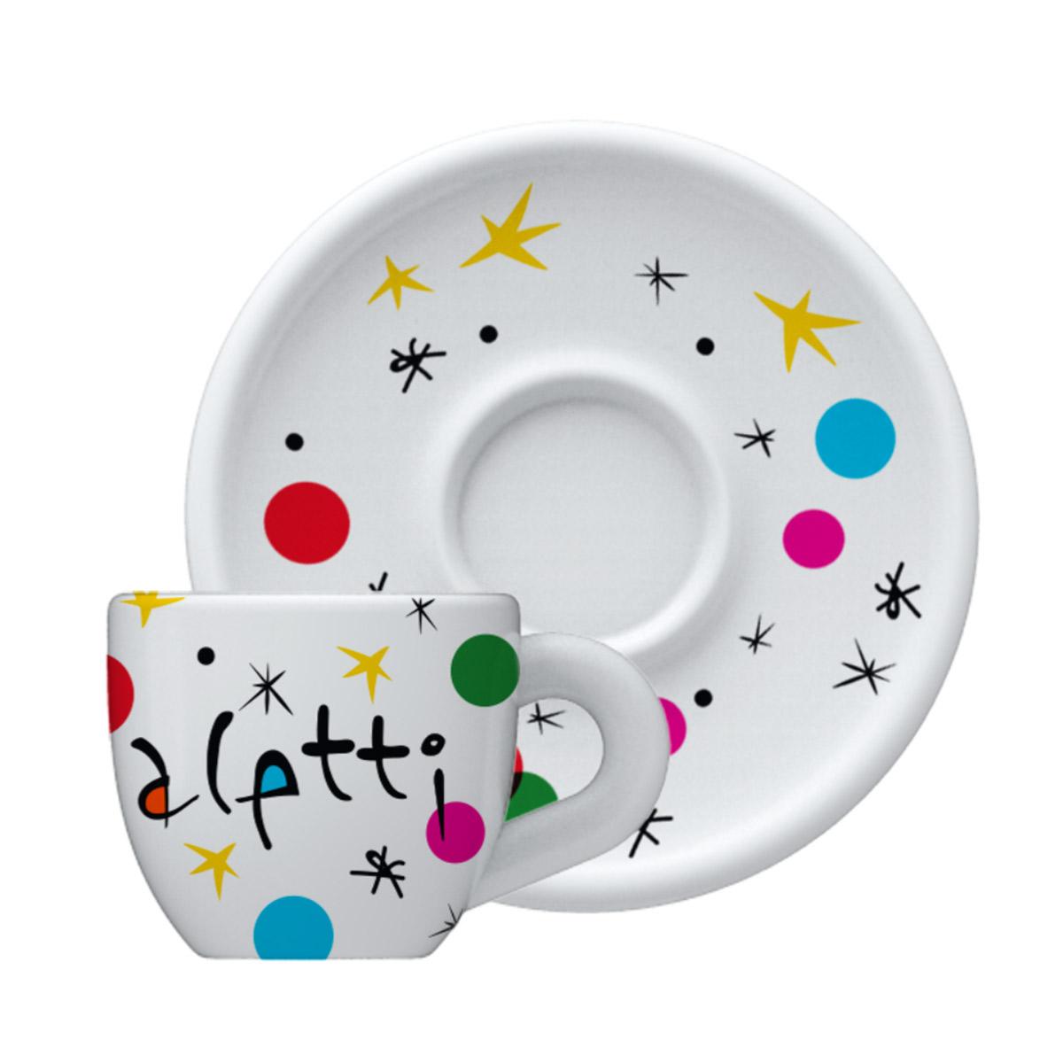 Taza para Cappuccino Miro de Porcelana Bialetti Diseño Personalizado