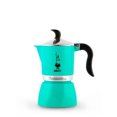 Cafetera Italiana Bialetti Fiammetta 1 Taza Verde