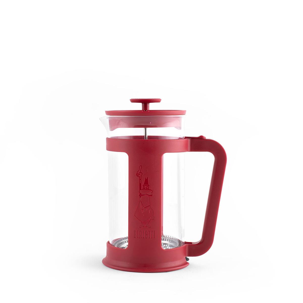 Cafetera Italiana Prensa Francesa Smart Roja 350ml Bialetti