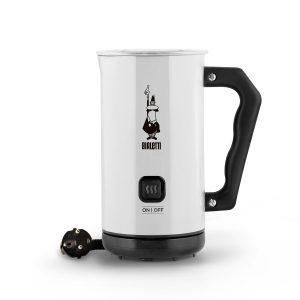 Milk Frother Espumador de leche eléctrico automático Blanco Bialetti para cappuccino