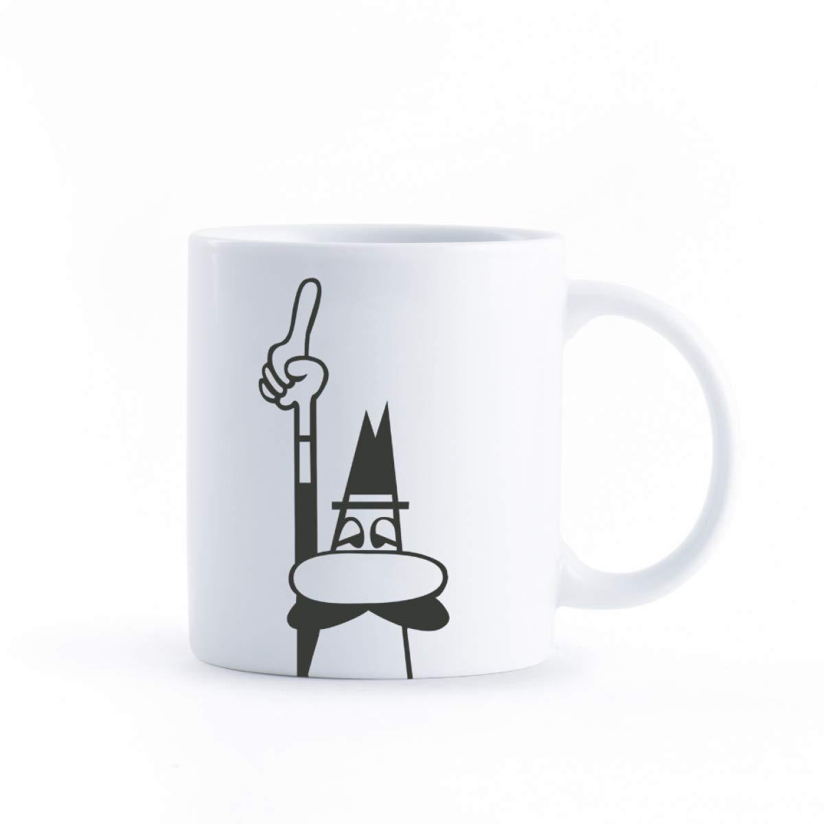 Taza de Porcelana para Café, Mug Omino Bialetti
