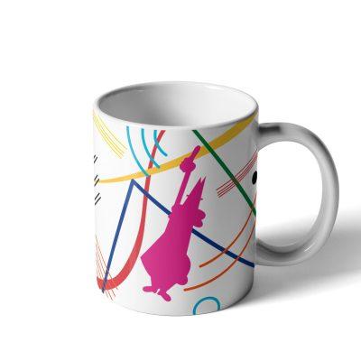 Mug Kandinsky de Porcelana