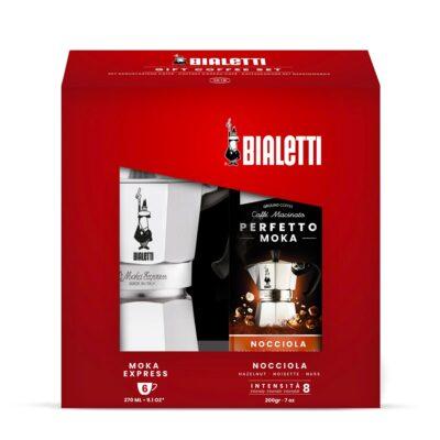 Gift Coffee Set Cafetera 6 tazas Bialetti