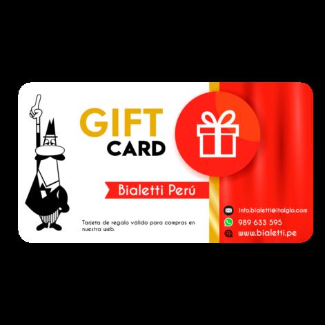 Gift Card para regalo