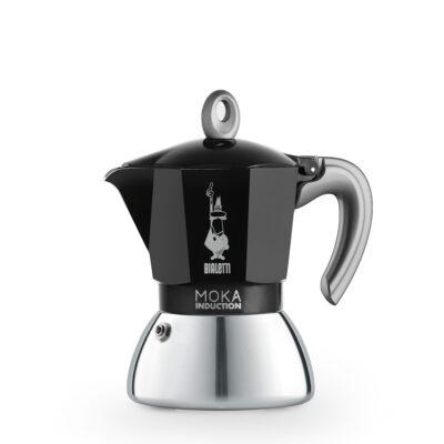 Cafetera New Moka Induction 4 Tazas Black